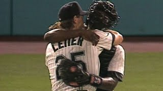 Leiter tosses first no-no in Marlins history