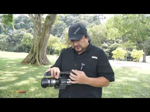 Sony NEX  VG20 Quick Review