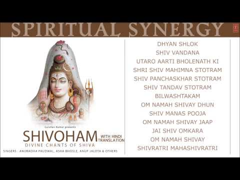 Spiritual Synergy Shivoham Divine Chants Of Shiva Hindi Anuradha Paudwal [full Audio Songs Juke Box] video