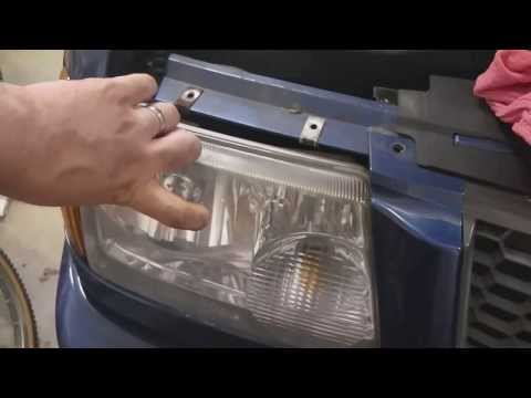 2001-2010 Ford Ranger Replace Headlight Bulbs (Mazda B Series)