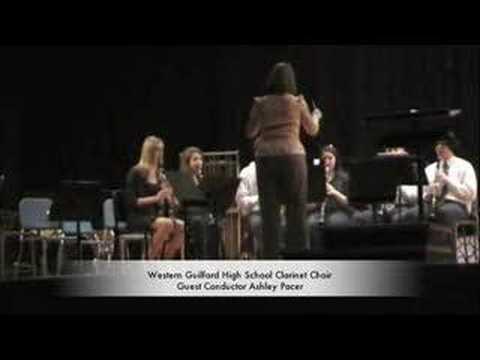 Western Guilford High School Clarinet Choir