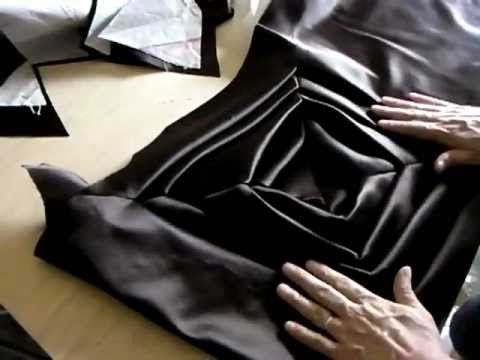 TR Cutting School -The Origami Dress Project