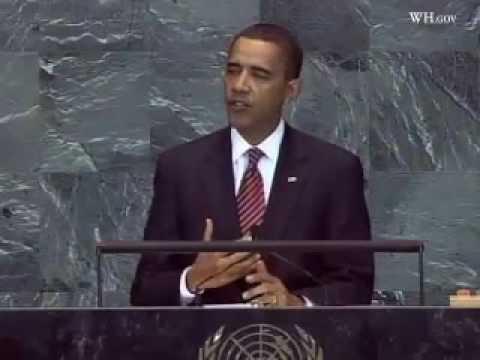 President Obama Addresses United Nations For First Time-Full Video