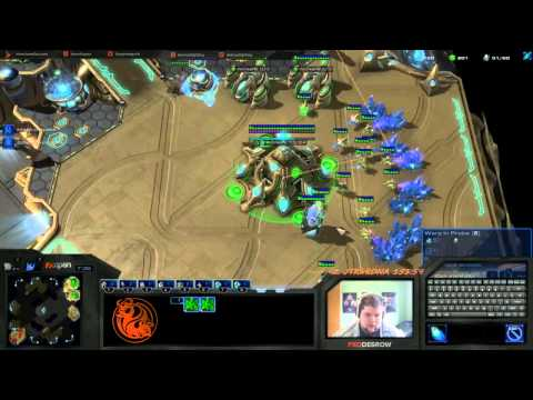 HotS PvT- Holding the MVP Tank/bunker contain - NA Ladder