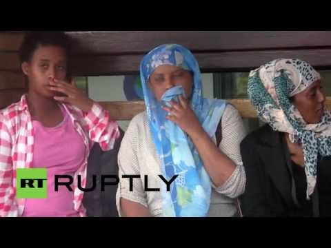 Italy: Migrant camp springs up next to George Clooney's €9m home