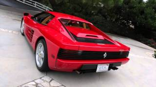 1989 Ferrari Testarossa For Sale!