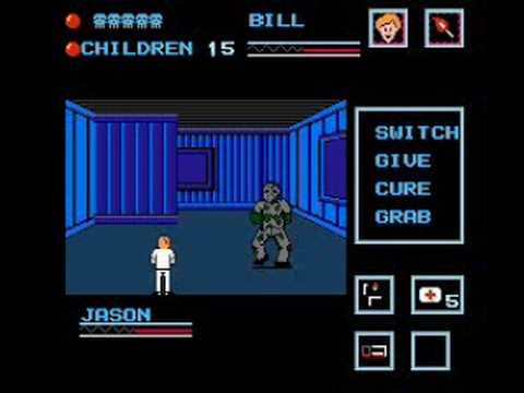 NES Friday The 13th Speedrun ( 8 Minutes 37 Seconds) Part 1