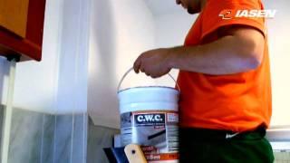 C.W.C. - Rivestimento anti-muffa e anti-condensa per locali interni