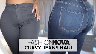 FASHION NOVA ISN'T THE SAME ANY MORE? | JEANS TRY ON HAUL