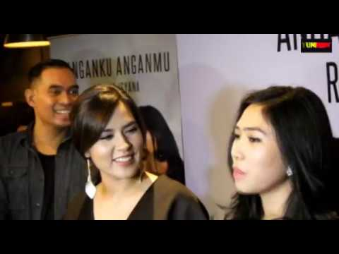 HOT FULL EXCLUSIVE INTERVIEW LAUNCHING RAISA X ISYANA ANGANKU ANGANMU
