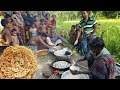 Jilapi Making | How To Prepare Most Tasty Bengali Sweet | Village Food To Feed 150+ Kids & Villagers
