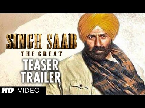 singh Saab The Great Trailer Teaser | Sunny Deol | Latest Bollywood Movie 2013 video
