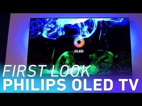 Philips' first OLED TVs have Ambilight technology