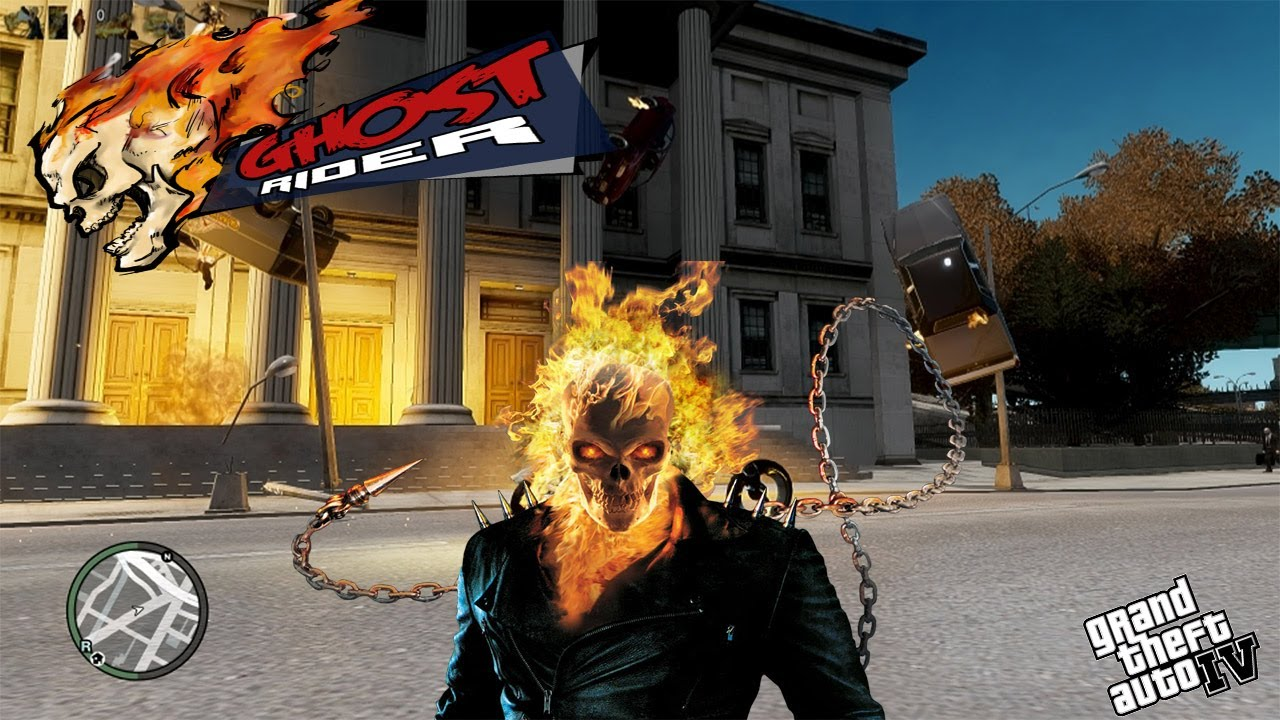 ghost rider video game in gta