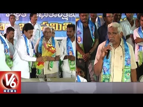 JAC Chairman Kodandaram Demands Govt To Purchase Stained Crops | V6 News