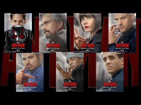 New ANT-MAN Character Posters - AMC Movie News