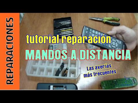 Tutorial. Cómo reparar mandos a distancia de TV DVD Sonido Aire Acondicionado...