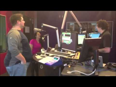 Gillian Strips Down To Her Panties In Studio!