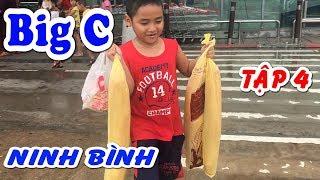 Bé Dương đi siêu thị BigC mua hàng siêu hài hước❤Kênh Em Bé