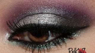 tutorial look silver sunset