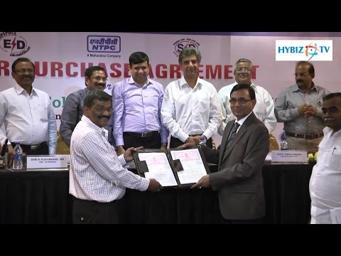 Ultra Mega Solar Power Project NTPC Taj Deccan Hyderabad - Hybiz.tv