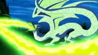 the lost dragon(with music from aladdin)