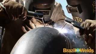 Solda com Eletrodo Revestido Acabamento (Tubulações)