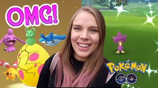 RARE BABY POKÉMON HATCH IN POKEMON GO! + Surprise Shiny! Pigeon Forge Vlog