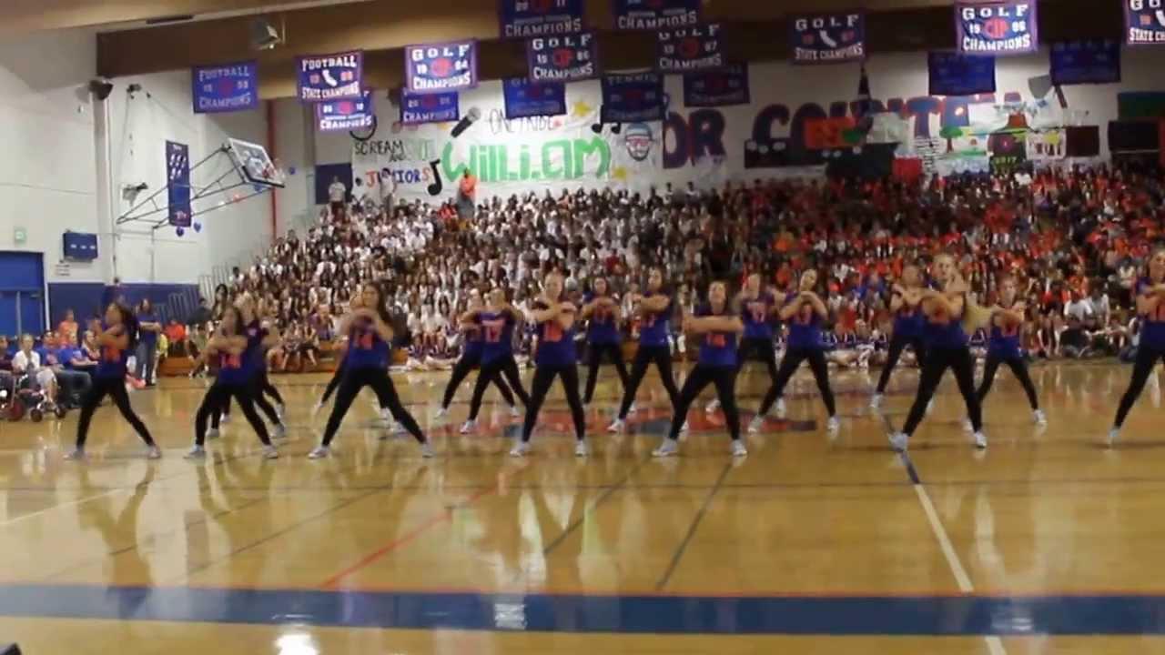 Westlake High School Dance Team Westlake Dance Team Rally