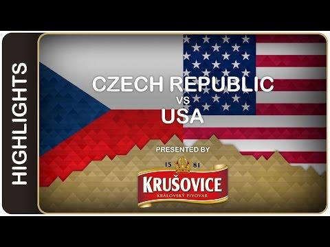 USA sinks CZE in shoot-out | Czech Republic-USA HL | #IIHFWorlds 2016
