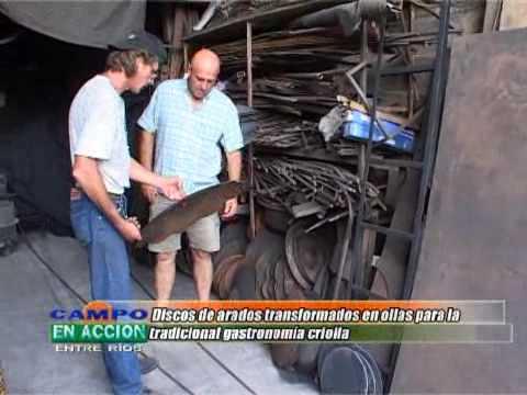 Orlando Puntin - Herrero artesanal - Hacedores en Accion