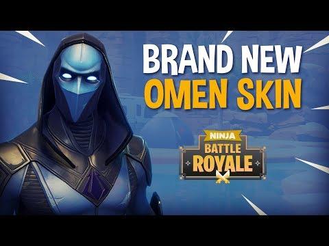 Brand New Omen Skin!! - Fortnite Battle Royale Gameplay - Ninja