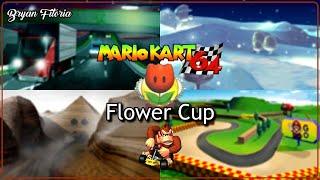Mario Kart 64 | Flower Cup 150cc - Donkey Kong