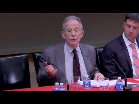 Ron Rifkin as Senator Bernie Sanders - Scenes from All The President's Men?