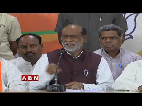 BJP Leader Babu Mohan and K Laxman Address Press Meet | ABN Telugu