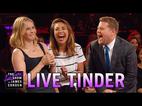 Late Late Live Tinder w/ Chelsea Handler