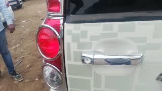 Mahindra Scorpio car full interior with crome & Android music studio