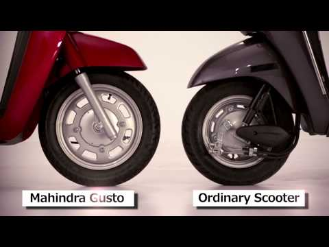 Mahindra Gusto presents some never seen before features