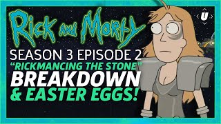 "Rick and Morty ""Rickmancing the Stone"" Breakdown and Easter Eggs!"
