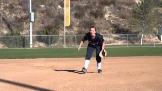 Rylee Reynolds Softball Skills Video