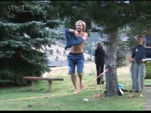 Yogaslackers Present: Slackline Striptease - A Day In The Life Of Paul video
