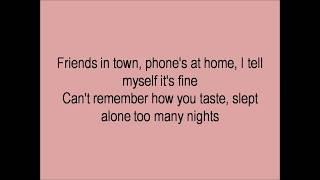 LANY - 13 Lyrics video