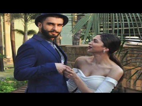 Ranveer Singh CAN'T STOP flirting with Deepika Padukone | UNSEEN VIDEOS