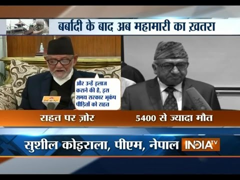 Nepal Earthquake: Nepal PM Calls for More Aid in Time of Crisis - India TV