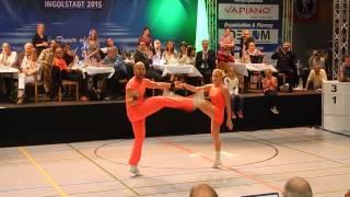 Jeanette Uhl & Mario Bludau - Deutsche Meisterschaft 2015