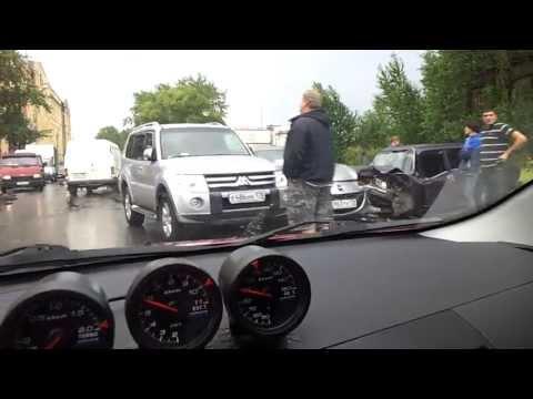ДТП на ул. Рощинской Санкт-Петербург. 08.08.2012