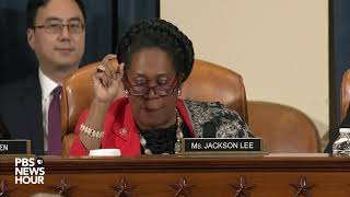 WATCH: Rep. Jackson Lee says Trump wasn't trying to fight corruption in Ukraine