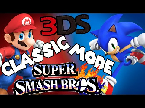 ABM: Super Smash Bros For 3DS *Classic Mode* 2 Gameplay!! HD