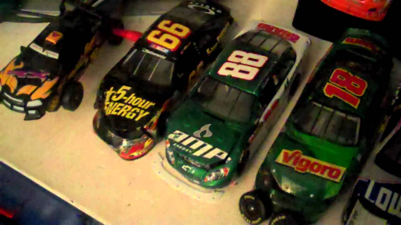 Nascar Diecast Collection 2012 Youtube