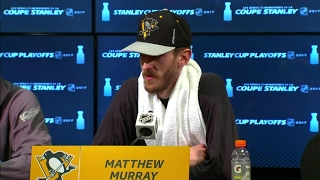 Murray says Fleury has been supportive after goalie switch